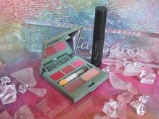 Clinique Lip Eye Palette Orchid Shimmer Nude Peach Pop Twice the Spice w/Mascara