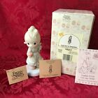 """PRECIOUS MOMENTS 1989 """"521310"""" """"YIELD NOT TO TEMPTATION"""" NEW IN BOX-NEVER DISP."""