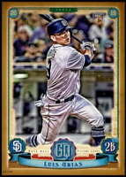 Luis Urias 2019 Topps Gypsy Queen 5x7 Gold #158 RC /10 Padres