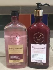 Bath & Body Works Aromatherapy Peppermint Body Lotion Body Wash New