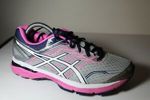 👟ASICS GT-2000 Gray/White/ Pink Running Shoes T757N Womens Size 10 EUC👟