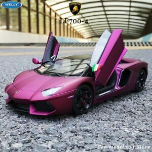 Lamborghini 1:18 Aventador LP700-4 Alliage Rétro Modèle De Voiture
