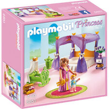 Playmobil Princess Chamber with Bed, Cradle & Two Figures - 6851