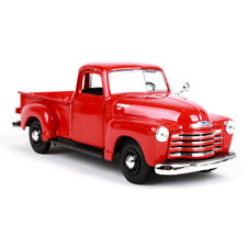 1/25 Red Diecast Allory  Maisto 1950 Chevrolet 3100 Pickup Box Display Kids Toy
