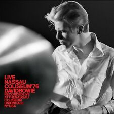 Live Nassau Coliseum 76 - 2 DISC SET - David Bowie (2017, CD NEUF)