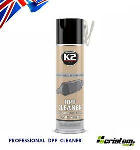 K2 DPF CLEANER FAP DIESEL PARTICULATE FILTER REGENERATOR SPRAY 500ml PROFESIONAL