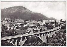 SALERNO CAVA DEI TIRRENI 09 AUTOSTRADA VIADOTTO Cartolina FOTOGR. VIAGGIATA 1963