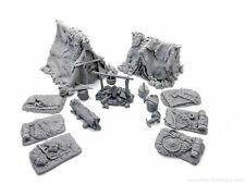 Bandit's camp - D&D, dungeon terrain, scenery, Frostgrave, rpg, dungeon decor