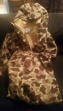 Cabela's Woodland Camouflage Gore-Tex Hunting Coat/Pants Sz Med. Large. READ