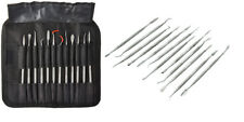12pc Wax Clay Carving Pick Spatula Tool Set with Case Arts and Crafts