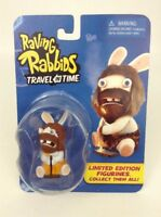Raving Rabbids Travel In Time Limited Edition Caveman Mini Action Figure Sealed