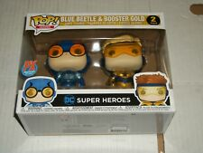 Funko DC Comics BLUE BEETLE & BOOSTER GOLD POP! Figures PX Exclusive NEW