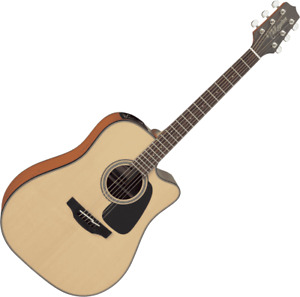 GUITARE ELECTRO ACOUSTIQUE DREADNOUGHT CUTAWAY TAKAMINE GD10CENS