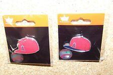 2 - LA Los Angeles Angels of Anaheim logo baseball cap pins hat pin NEW for 2015