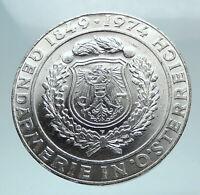 1974 AUSTRIA Saint Rupert & Saint Vincent Genuine Silver 50 Shilling Coin i80823