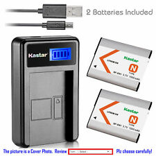 NP-BN1 BC-CSN Battery or LCD Charger for Sony Cyber-shot DSC-W800 W810 W830 TX5