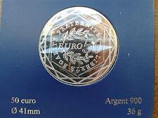 france 50 euros argent 2010