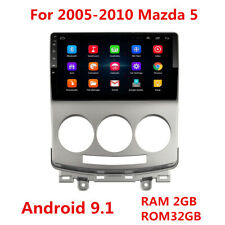 "For 2005-10 Mazda 5 9"" Android 9.1 Car Radio Stereo GPS Navigation Player 2+32GB"