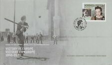 CANADA 2020 VICTORY IN EUROPE V-E DAY VERONICA FOSTER FIRST DAY COVER