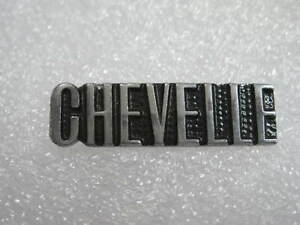 Chevelle  Chevrolet  Lapel Hat Pin Badge