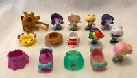Lot of 7 My Little Pony Cutie Mark Crew Figures Rainbow Dash, Fluttershy, Rarity