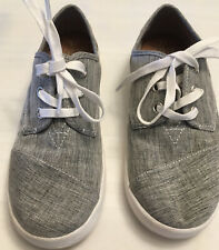 Toms Youth Tennis Shoes Grey Y3