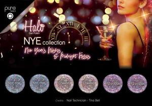 Pure Nails Halo UV LED Gel Nail Polish NYE Collection