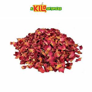 Edible Dried Rose Petals Biodegradable Wedding Confetti Decoration 1kg