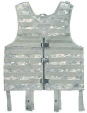 LOAD CARRIER VEST ACU Molle Tactical Chest Rig Army Camo Paintball Airsoft