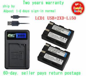 New AC+2XD-li50 D-l150 Battery for K10 K10D K20D GP Grand Prix GX-10 GX-20 Dli50