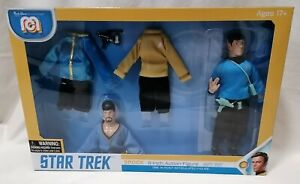 STAR TREK - *New MIB* Nimoy Mr Spock 8 Inch Figure Mego Marty Abrams Gift Set