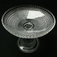 "COMPOTIER ""HAMBOURG"" COUPE fruit BOWL signé VAL ST LAMBERT cristal semi-cristal"