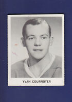 Yvan Cournoyer 1965-66 Coca-Cola Coke Cards Hockey (VG) Montreal Canadiens