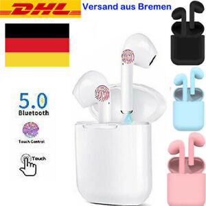 Kopfhörer Bluetooth 5.0 In-Ear Ohrhörer Sport Stereo Headsets für Samsung iPhone