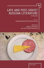 Cultural Syllabus: Late and Post-Soviet Literature : A Reader (2014, Paperback)
