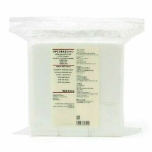 MUJI Cotton Puff 10 Pack Sets Peelable Cotton With Tracking FedEx