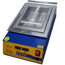 Lead-Free Titanium Alloy Solder compact Soldering Pot Desoldering Bath 1500W220V