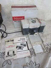 Polaroid Print Copier #240 in Original Box w/ Manuals