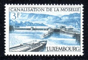1964 Luxembourg SC# 410 - Opening of Moselle River Canal System - M-NH