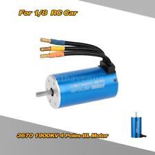 3670 1900KV 4-polig sensorlose Brushless Motor für 1/8 RC-Car V9T6