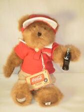 "Boyds Bears ""Jimmie""  Cracker Barrel Exclusive Coca Cola Bear"