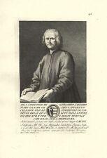GREGORIO DI GREGORIO SANSEDONI SIENA STAMPA ORIGINALE 1700