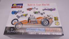 MONOGRAM THE SLINGSTER CUSTOMIZING DRAGSTER PLASTIC MODEL CAR KIT 1/25 ©2013