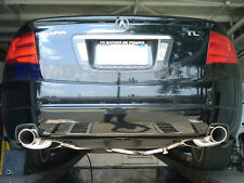 Acura TL 04 05 06 07 08 Tsudo SP VIP Dual stainless cat back Exhaust Muffler