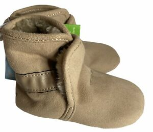 Baby Girls' Surprize by Stride Rite Charlie Boots Brown Stage 1 6 12 Months NWT