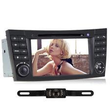 "Kamera+7"" Autoradio GPS Navi Bluetooth DVD DVB-T DVR Für Benz E Klasse W211 W219"