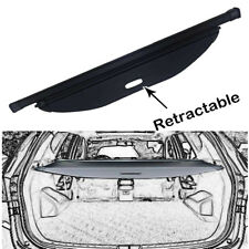 For 2015-2019 Hyundai Santa Fe Sport Cargo Cover Security Rear Trunk Shade Black