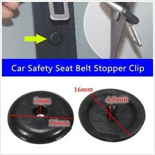 50 x Car Seat Belt Clips Stopper Buckle Button Fastener Safety Car Accessories
