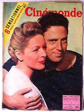 b)Cinémonde Dec. 1955  La vérité sur la vie de Marilyn II/ Raf Vallone/ J. Beer