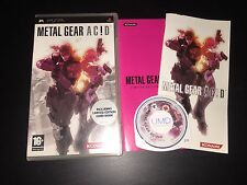 PSP : metal gear acid ac!d